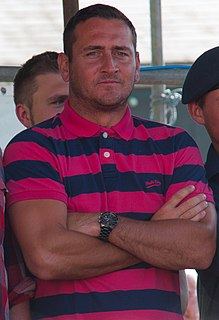 Will Mellor British actor