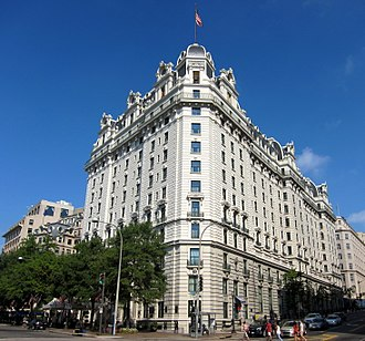 Willard InterContinental Washington - Image: Willard Inter Continental