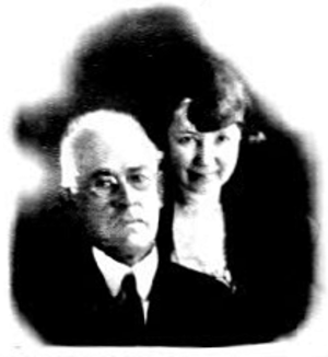 William A. Spinks - William and Clara Spinks in 1922 (passport photo from U.S. Department of State microfilm)