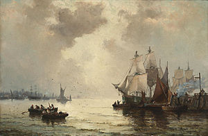 William Anslow Thornley - Morning on the Thames.jpg