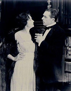 The Man Who Lost Himself (1920 film) - Hedda Hopper and William Faversham