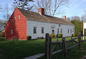 Miller Place, New York - The William Miller House, with sections dating from 1720 to 1816