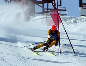 Skiing - Image: Wilmot ski racer cmsc