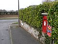 Wimborne Minster, postbox No. BH21 64, Milton Road - geograph.org.uk - 1165580.jpg