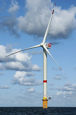 Energy in Belgium - Wind turbine