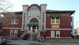 Winfield, Kansas - Winfield Public Carnegie Library (2013)