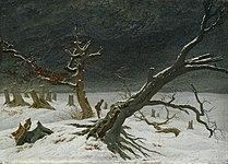 Caspar David Friedrich Winter Landscape 1811