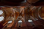 Wismar, St. Georgen, Gewölbeansicht. 3.JPG