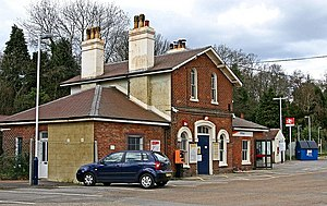 Witley - Image: Witley railway station