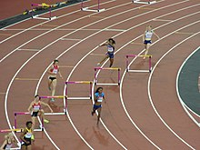 Women's 400m hurdles final (36393401892).jpg
