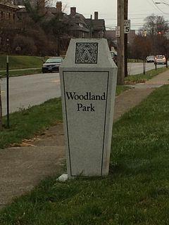Woodland Park, Columbus, Ohio Neighborhood of Columbus in Franklin, Ohio, United States