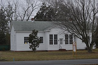Woodville School (Ordinary, Virginia) school in Gloucester County, Virginia
