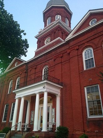 Snow Hill, Maryland - Worcester County Courthouse in Snow Hill.