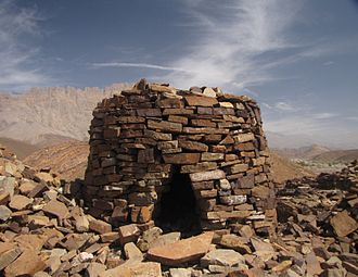 Oman - A grave at Al Ayn, Oman, a World Heritage site