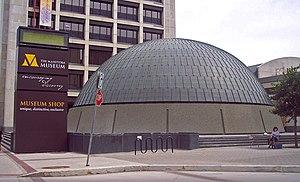 Manitoba Museum - Image: Wpgplanetarium