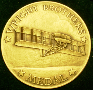 Wright Brothers Medal - Image: Wright bros medal