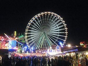 Deutsch: Wurstmarkt Bad Dürkheim bei Nacht