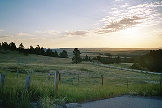 Niobrara County, Wyoming - Niobrara County (WY) SR85