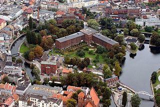 Mill Island in Bydgoszcz