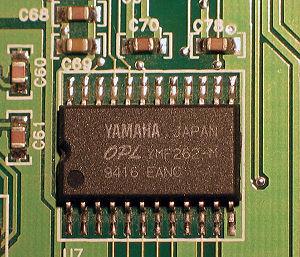 Yamaha YMF262 - Yamaha YMF262 (year 1994)