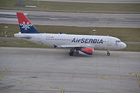 YU-APC - A319 - AirSERBIA