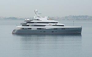 Aviva (68m yacht) - Image: Yacht Aviva 03