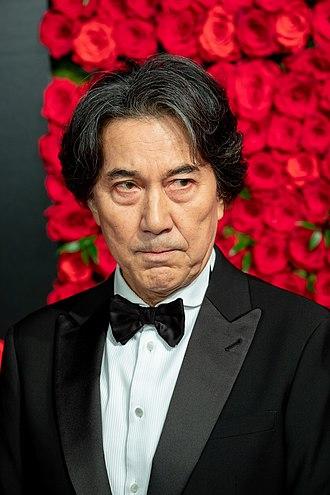 Kōji Yakusho - Kōji Yakusho at the 31st Tokyo International Film Festival in 2018