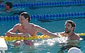 Yannick Agnel & Michael Phelps after 200m freestyle-3 (18791106898).jpg