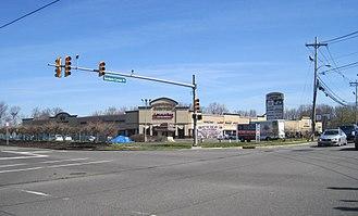 Yorketown, New Jersey - Yorketown Center shopping plaza