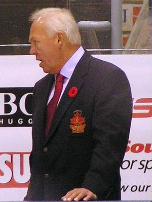 Yvan Cournoyer - Cournoyer at the 2008 Legends Classic game.