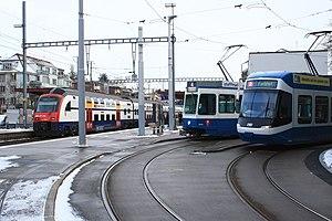 Zürich Tiefenbrunnen railway station - Image: Zürich Tiefenbrunnen Bahnhof IMG 7867