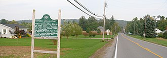 Zanesfield, Ohio - Zanesfield village limits