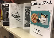 Zines featured at the Long Beach Public Library