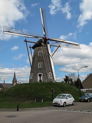 Zeeland, North Brabant - Image: Zeeland, molen 1 foto 2 2010 04 10 13.07