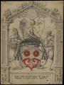 Zentralbibliothek Zürich - Scheibenriss für Probst Hercules Göldli oder Göldlin - 000003141.tif