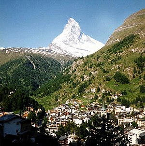 The Matterhorn, a classic peak