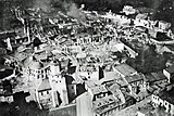 Wieluń destroyed by Luftwaffe bombing the 1st of September 1939