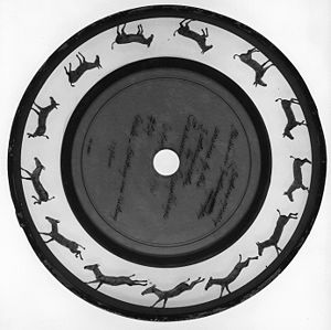 Zoopraxiscope - Zoopraxiscope disc by Eadweard Muybridge