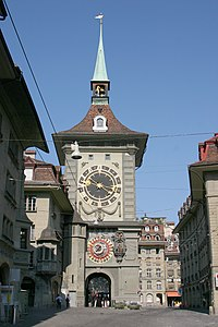 The Zytglogge clock tower is one of the city's best-known symbols.