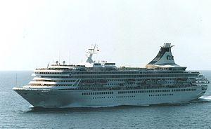 MV Artania - Artania as the Royal Princess off the US West Coast