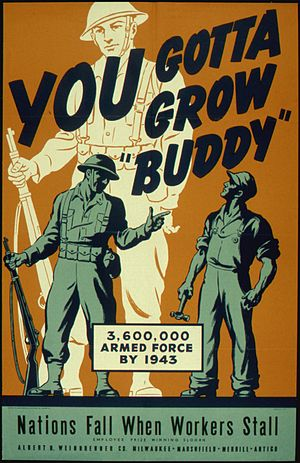 """YOU GOTTA GROW BUDDY"" - NARA - 516225"