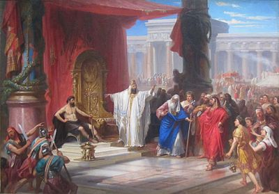 'King Solomon and the Iron Worker' by Christian Schussele, 1863.JPG