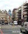 'The Gherkin' seen from Borough High Street, south London - geograph.org.uk - 1522084.jpg