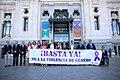 (Foto de grupo) El alcalde condena el último asesinato por violencia de género en la ciudad de Madrid 02.jpg