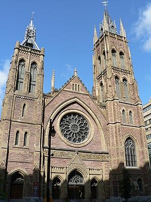 Alexander Francis Dunlop - Image: Église Unie St James United Church