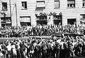Üllői út 44., Jurij Gagarin fogadása. Fortepan 17126.jpg