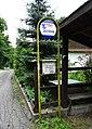 Špania Dolina, Rudné bane, zastávka autobusu.jpg