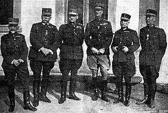 Army of Asia Minor - The Greek senior military leadership in September 1921