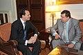 Συνάντηση ΑΝΥΠΕΞ κ. Δ. Δρούτσα με Αρχηγό ΛΑ.Ο.Σ κ. Γ. Καρατζαφέρη (4859868520).jpg