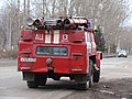 Автомобильная цистерна (ЗИЛ-131) вид сзади ПЧ-13 г.Котлас.JPG